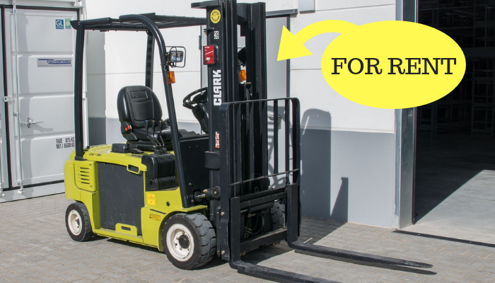 Forklift rental : why should you rent your forklift?